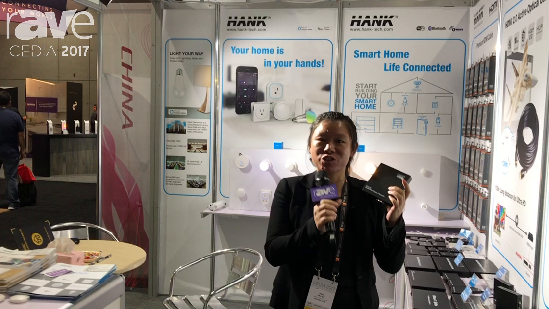 CEDIA 2017: HANK Electronics Presents Ultra HD 4Kx2K/60Hz HDBaseT Extender