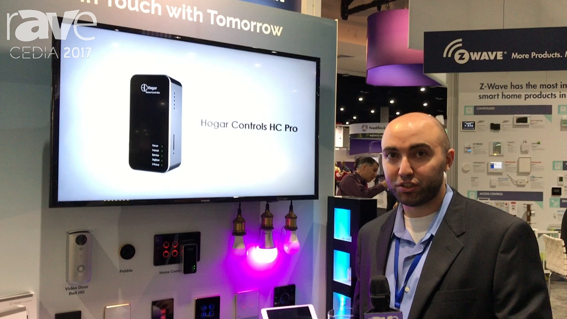 CEDIA 2017: Hogar Controls Launches Home Controller Pro