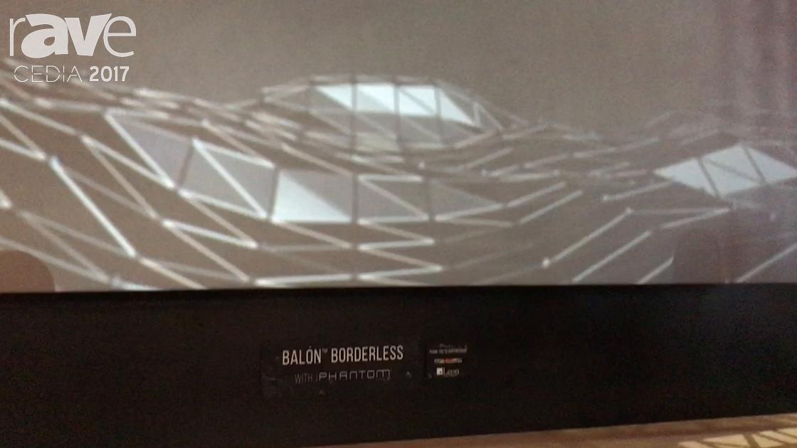 CEDIA 2017: Stewart Filmscreen Showcases Balon Borderless Seamless Screen