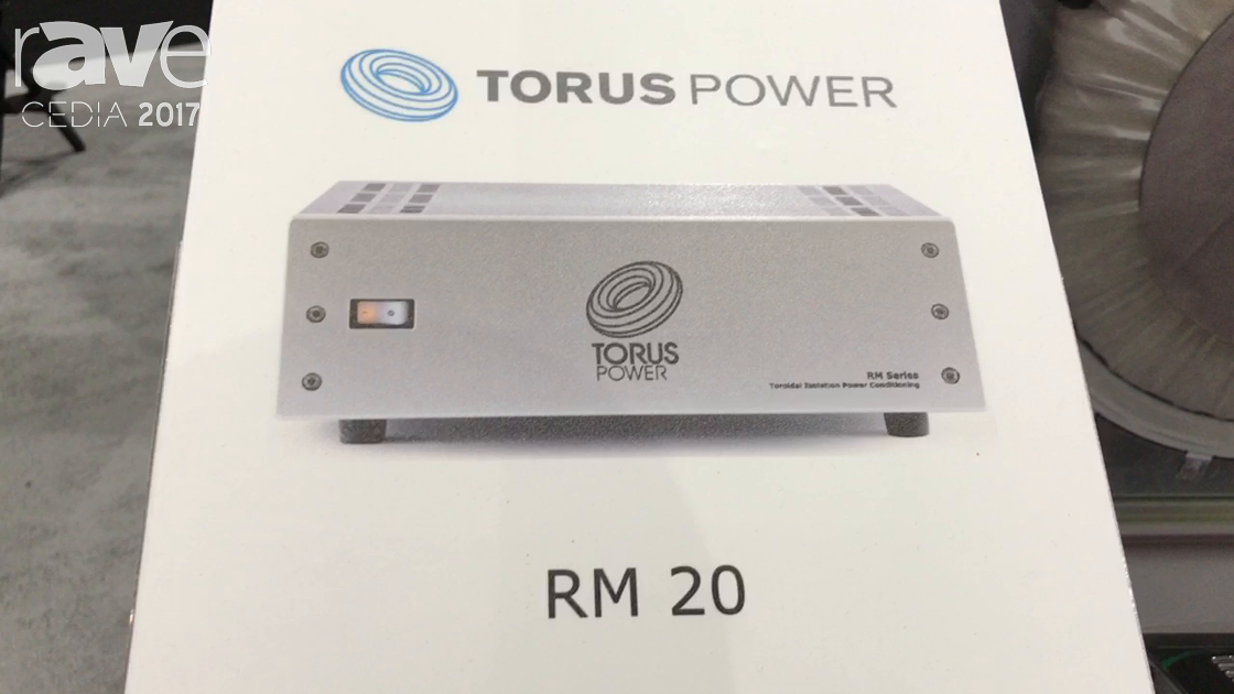 CEDIA 2017: Torus Power Demos RM 20 Series