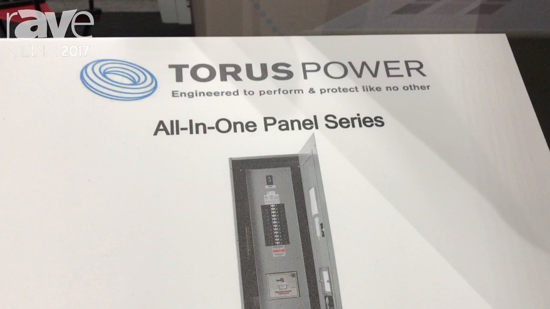 CEDIA 2017: Torus Power Shows All-In-One Panel Series High Quality Breaker Panel