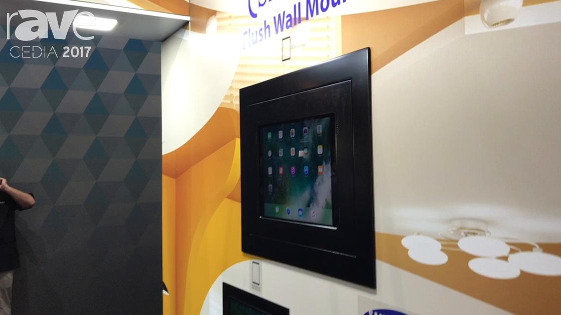 CEDIA 2017: Wall-Smart Announces New Flush Wall Mounts for iPad