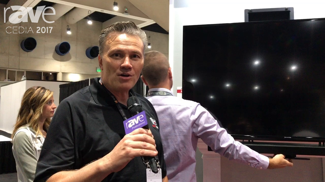 CEDIA 2017: MantelMount Demos MM750 Pro Series Manual Mount