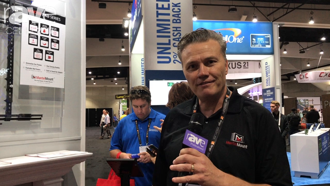 CEDIA 2017: MantelMount Shows off MM700 Pro Series Mount