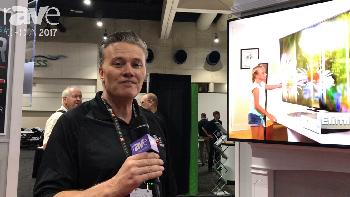 CEDIA 2017: MantelMount Shows off MM850 Automated Mount