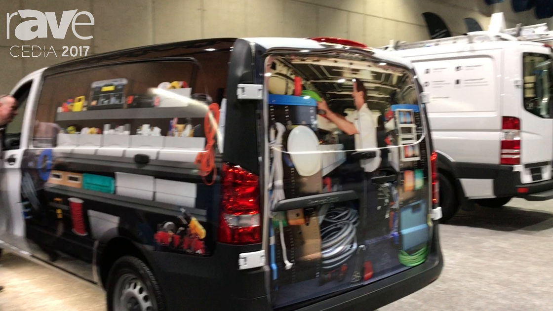 CEDIA 2017: Mercedes-Benz Displays Metris Cargo Van
