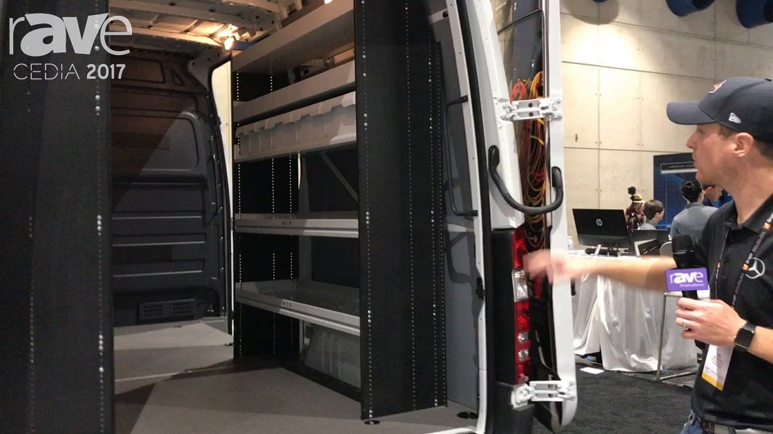 CEDIA 2017: Mercedes-Benz Features Sprinter Cargo High-Roof Van