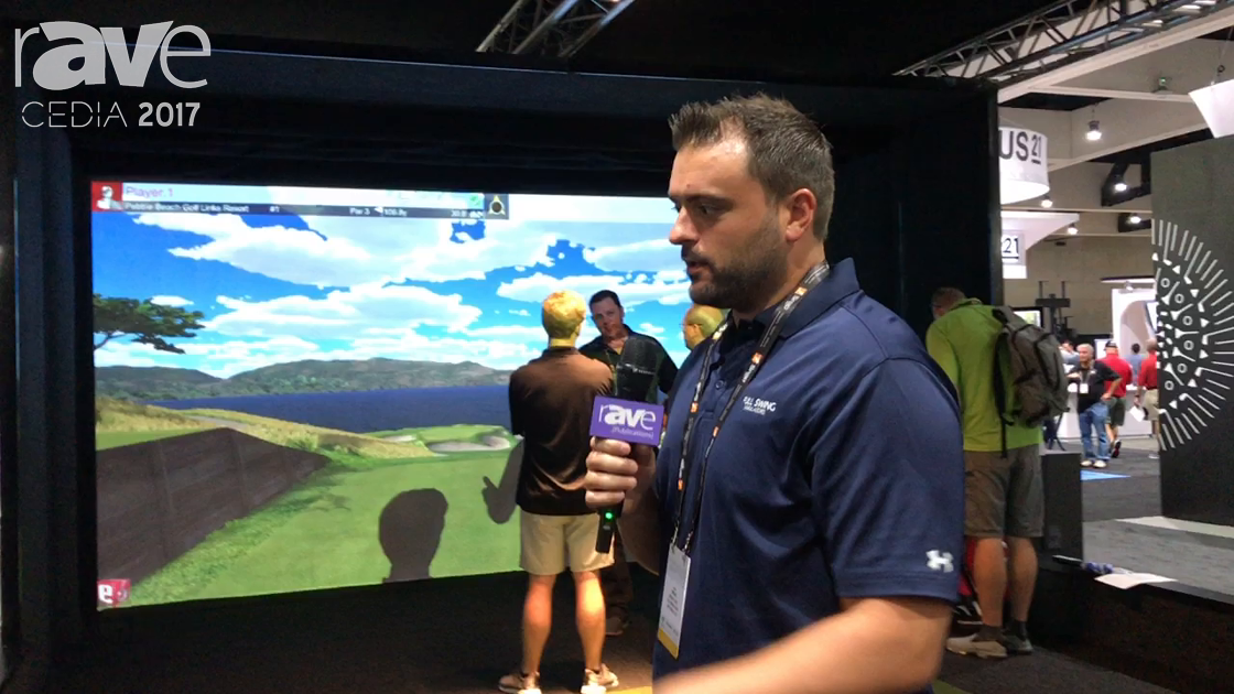 CEDIA 2017: Full Swing Golf Shows Widescreen S8 Simulator