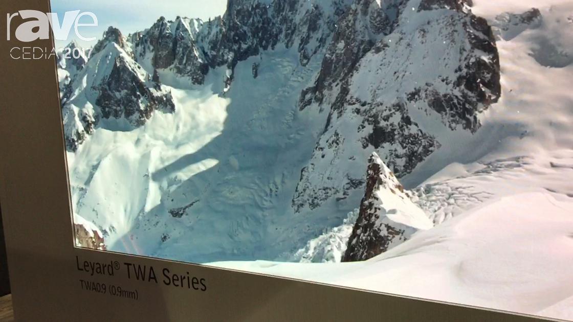 CEDIA 2017: Leyard Shows TWA0.9 Series LED Video Wall