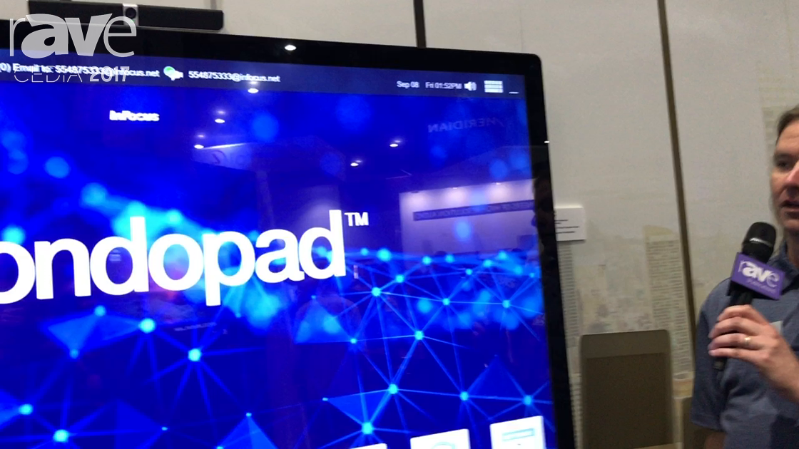 CEDIA 2017: ADI Shows the InFocus 70 inch Mondopad
