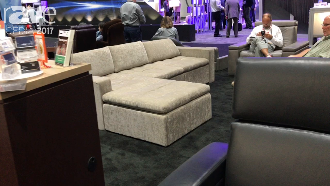 CEDIA 2017: Fortress Introduces New Seating Options for Custom Theaters