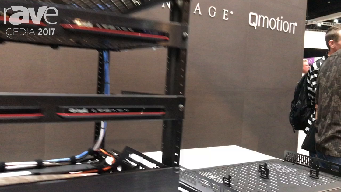 CEDIA 2017: Middle Atlantic Shows Custom Rack Shelves