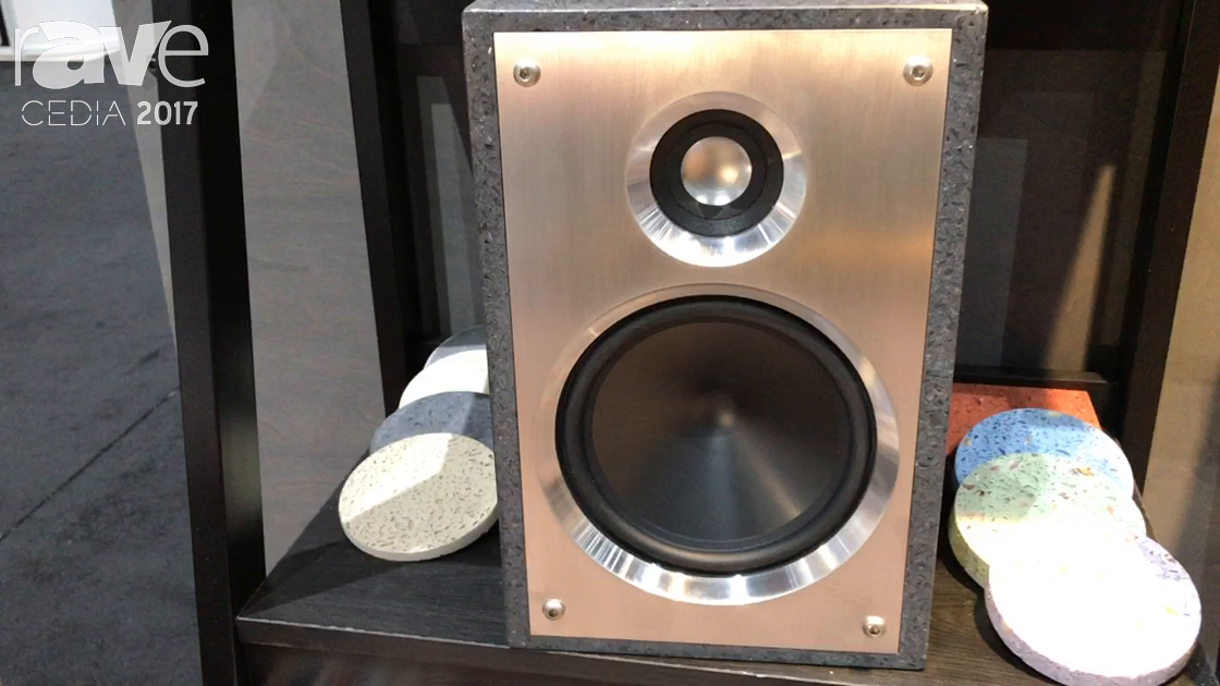 CEDIA 2017: Terra Speakers Introduces Katahdin Speakers Made From Recycled Concrete