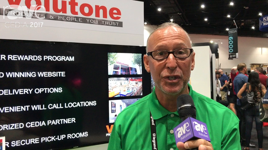 CEDIA 2017: Volutone Joins CEDIA at PowerHouse Alliance Booth