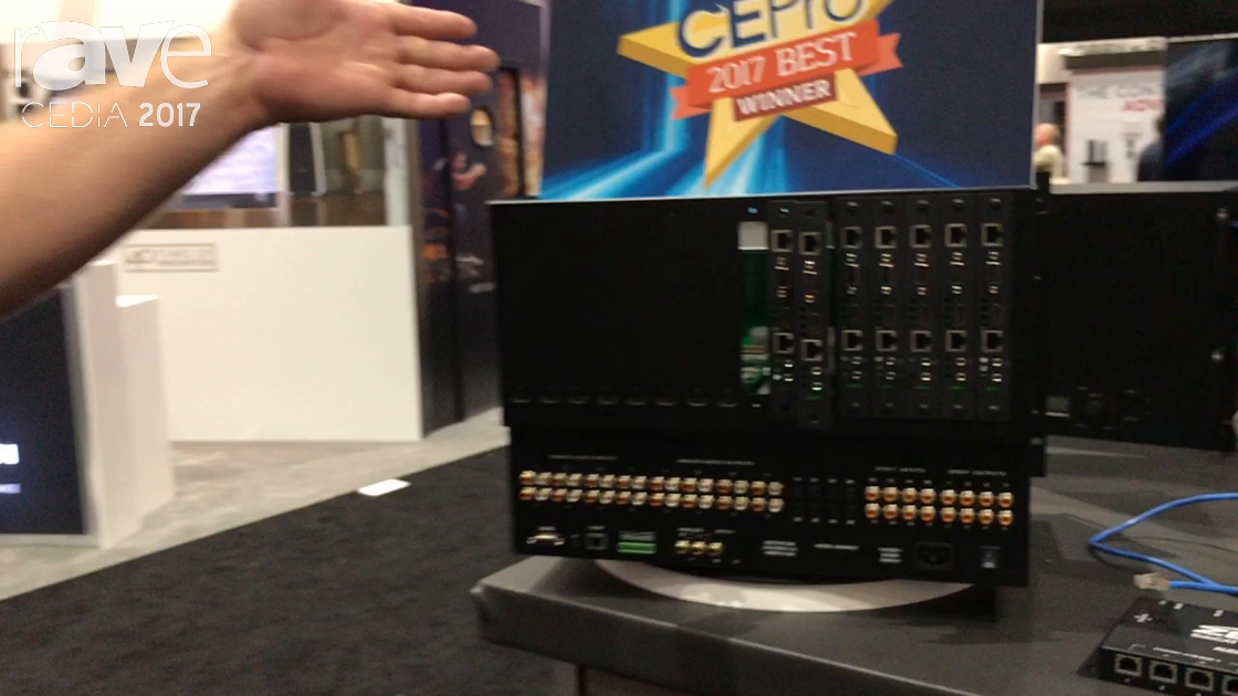 CEDIA 2017: Zektor Demos Palladia Matrix Switch