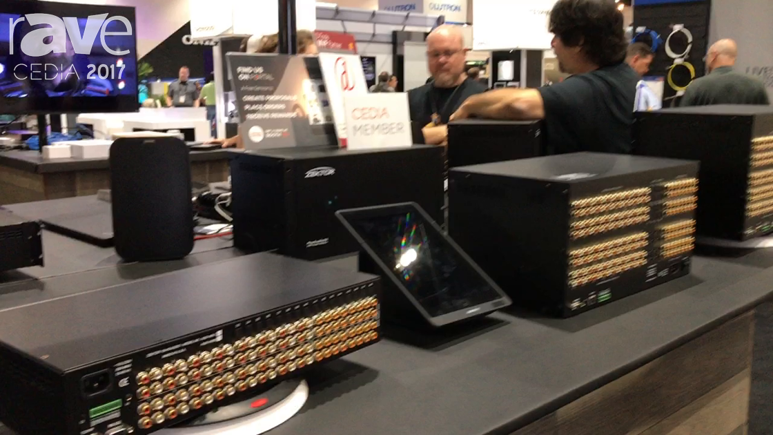 CEDIA 2017: Zektor Shows Off DSP Pre-Amp Audio Matrix