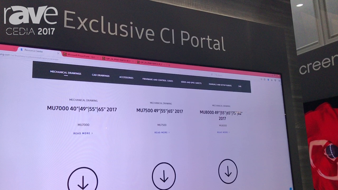 CEDIA 2017: Samsung Launches Exclusive CI Portal Support Network For Custom Installers