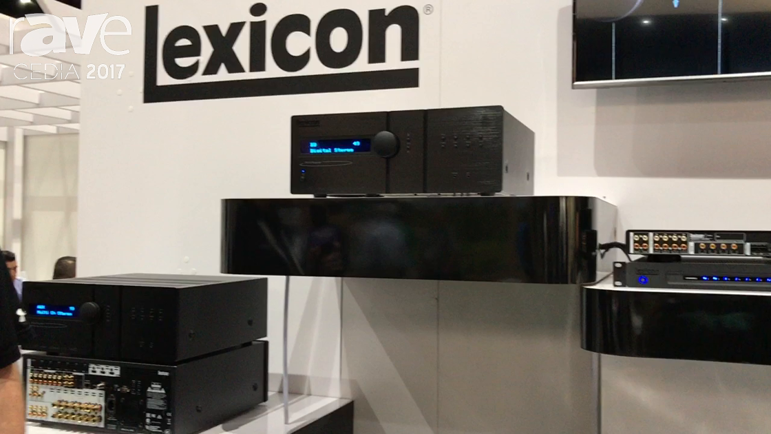 CEDIA 2017: Lexicon by HARMAN Shows RV-6 AND RV-9 AVRs and MC-10 Surround Processor