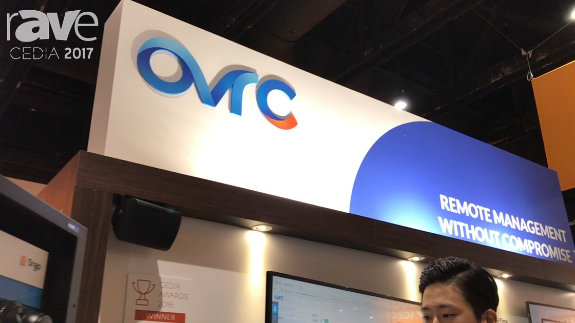 CEDIA 2017: OvrC Talks About Advancements in OvrC Pro and OvrC Home on the SnapAV Booth