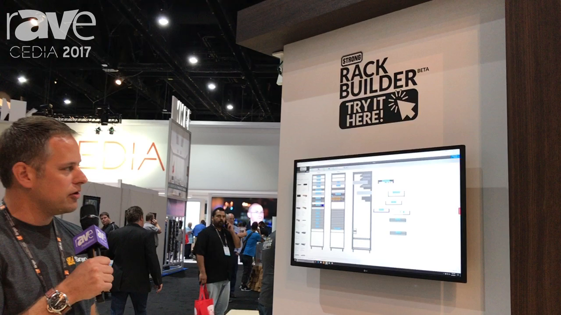 CEDIA 2017: Rack Builder Shows New Custom Design Rack Builder Cloud-Based Tool on the SnapAV Booth