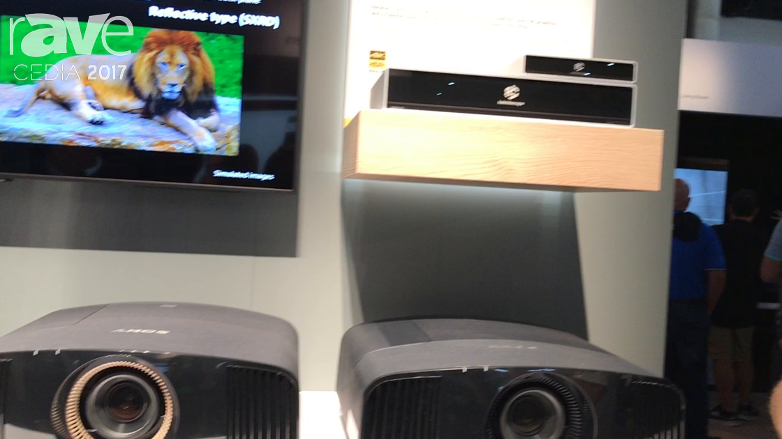 CEDIA 2017: Sony Shows VPL-VW385 with Dynamic Iris and Lens Memory