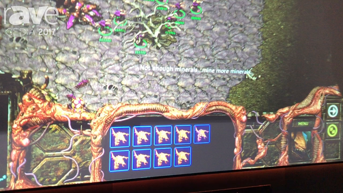 CEDIA 2017: EluneVision Features Aurora ALR Perforated NanoEdge Screen