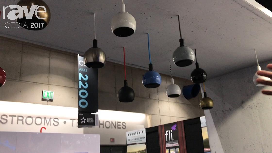 CEDIA 2017: Gallo Acoustics Debuts PC850 Pendant 8″ Speaker