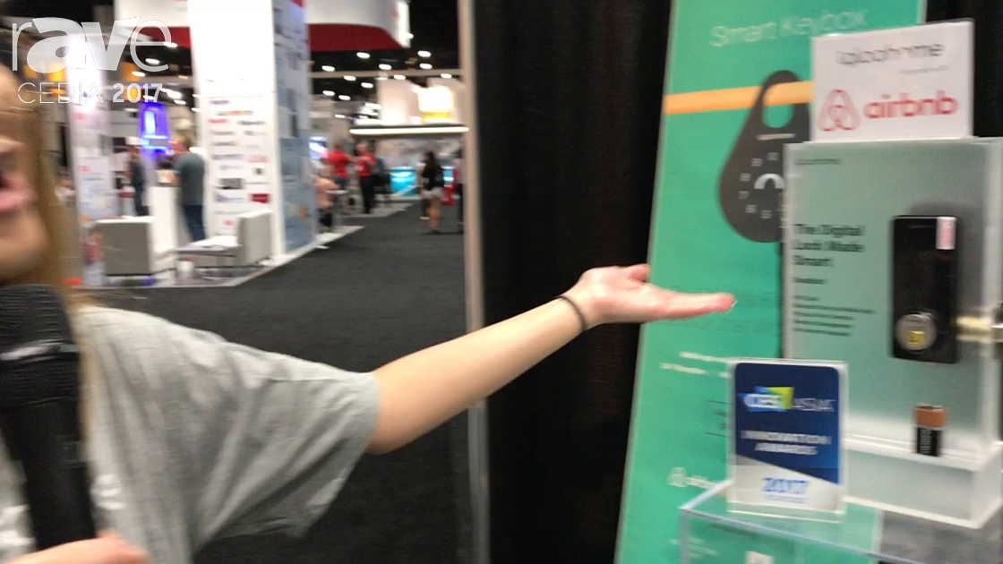 CEDIA 2017: igloohome Shows Off Smart Lock Deadbolt 02