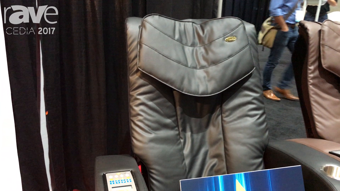 CEDIA 2017: Luraco Technologies Introduces Sofy Chair for Home Theater Massage Chair