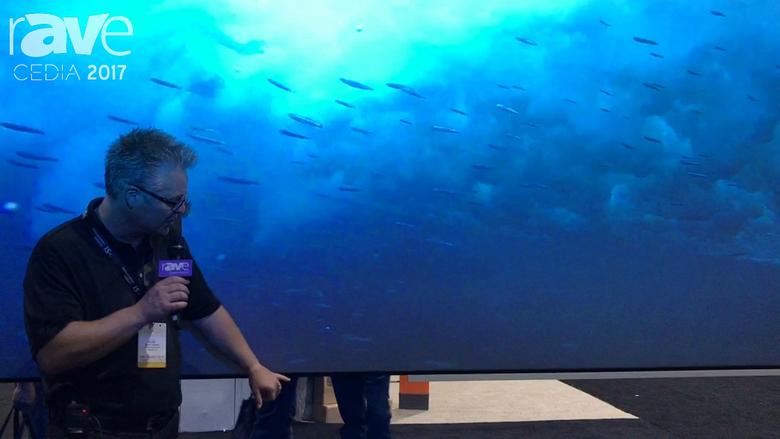 CEDIA 2017: Screen Innovations Shows Zero Edge Black Diamond Screen with Frame Options