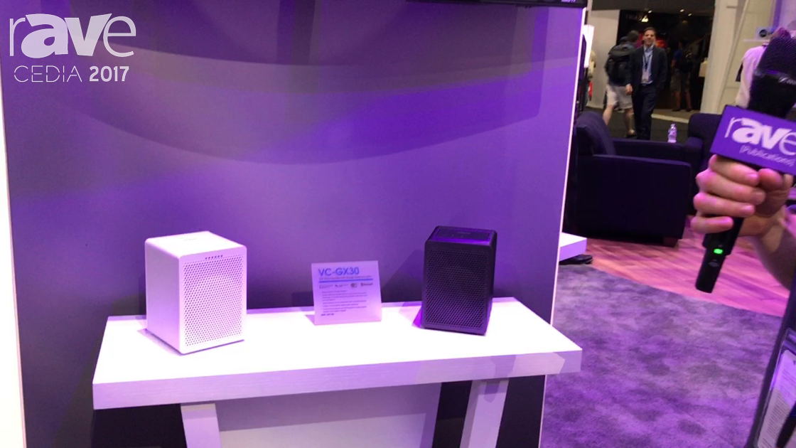 "CEDIA 2017: Onkyo Launches VC-GX30 ""G3"" Smart Speaker with Google Assistant Built-In"