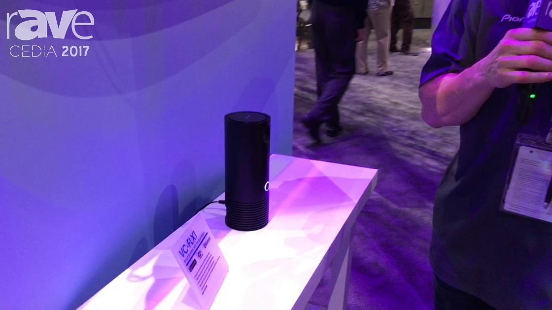CEDIA 2017: Onkyo Presents VC-FLX1 Smart Speaker with Amazon Alexa Integration