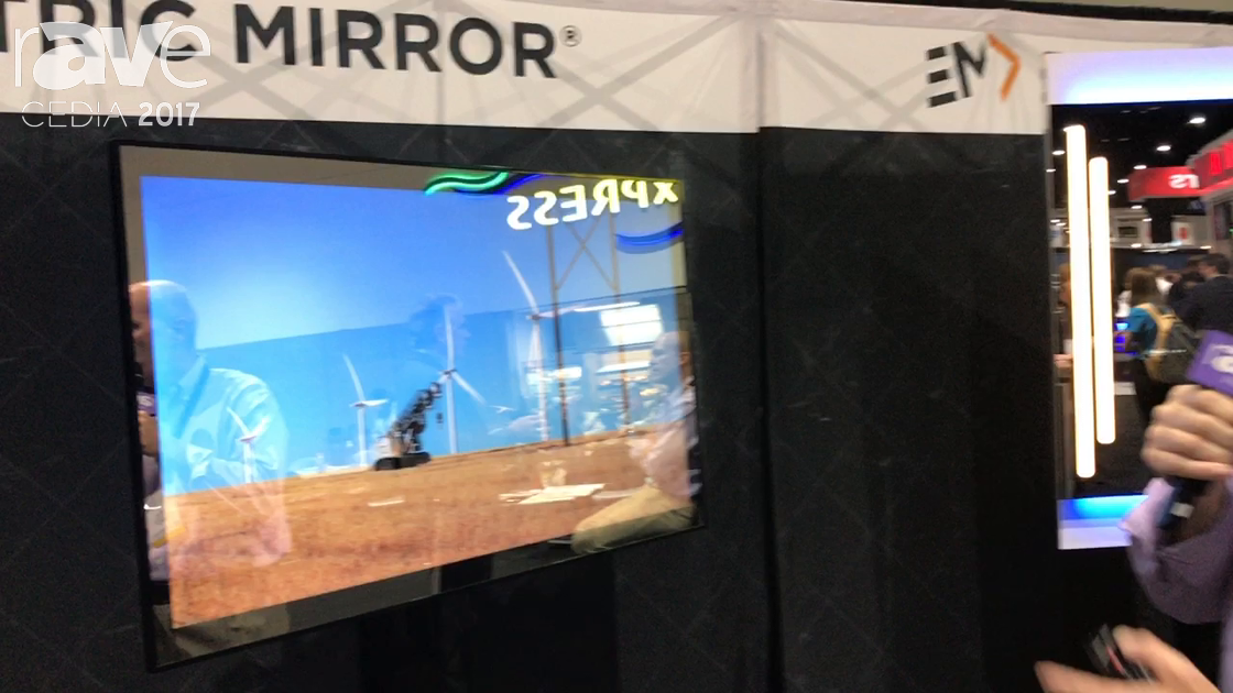 CEDIA 2017: Electric Mirror Shows Eclipse TV Cover