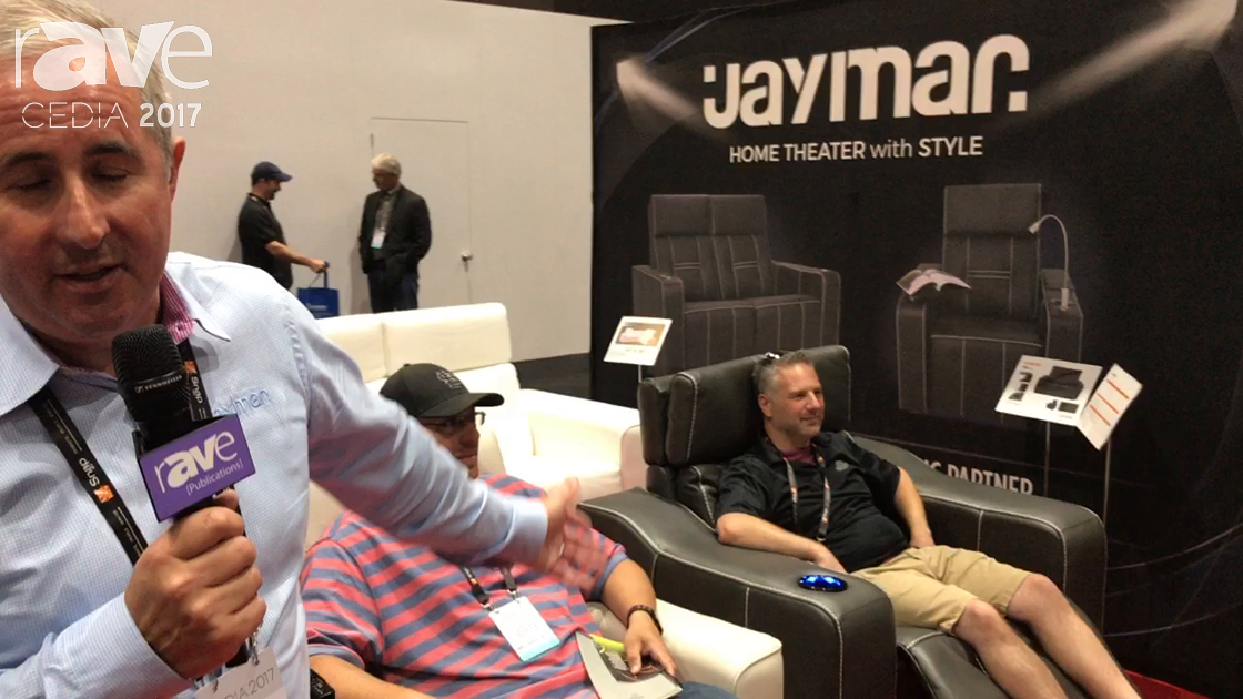CEDIA 2017: Jaymar Shows New Custom Seating For The Ultimate Cinema Experience