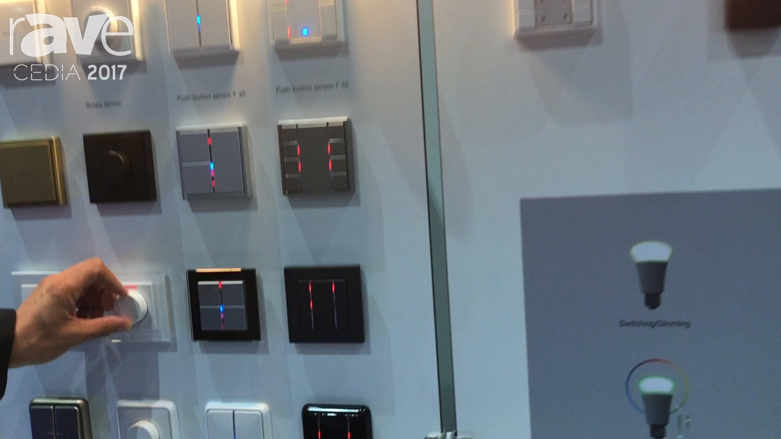 CEDIA 2017: Jung Announces Smart Lighting Control And Dimmers