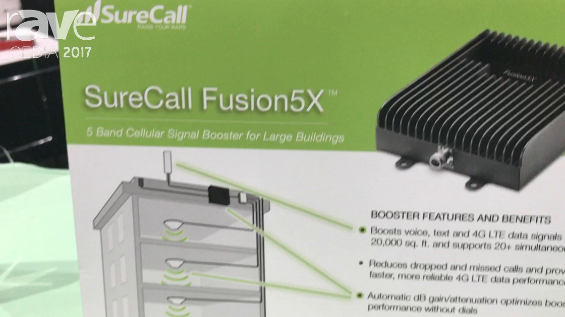 CEDIA 2017: SureCall Announces Fusion5X and Fusion4Home Signal Boosters