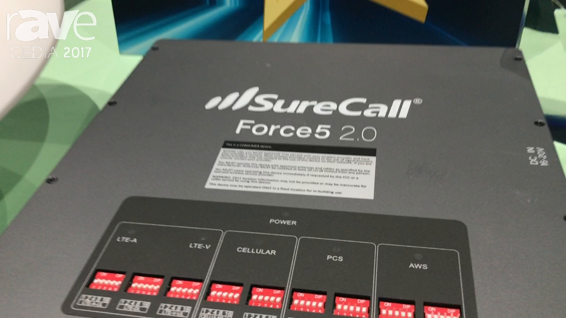CEDIA 2017: SureCall Talks About Force5 2.0 Cellular Signal Booster