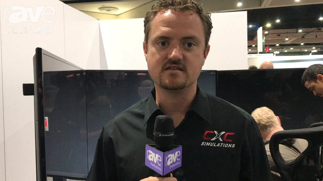 CEDIA 2017: CXC Simulations Talks About the Motion Pro II Racing Simulator