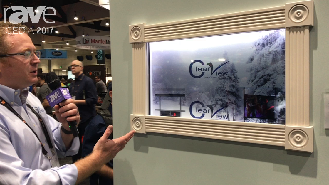 CEDIA 2017: Clear View Exhibits Window TV
