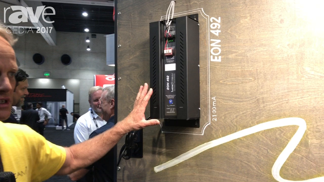 CEDIA 2017: LumaStream Presents EON 492 Lighting Power Supply