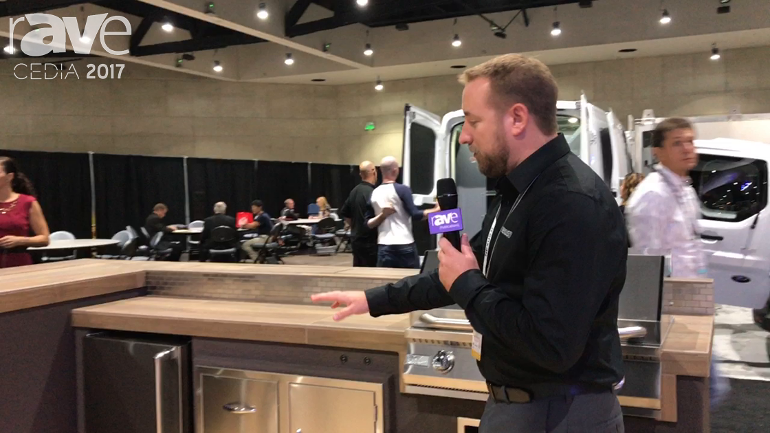 CEDIA 2017: Nexus21 Presents the Outrider BBQ Grill Island