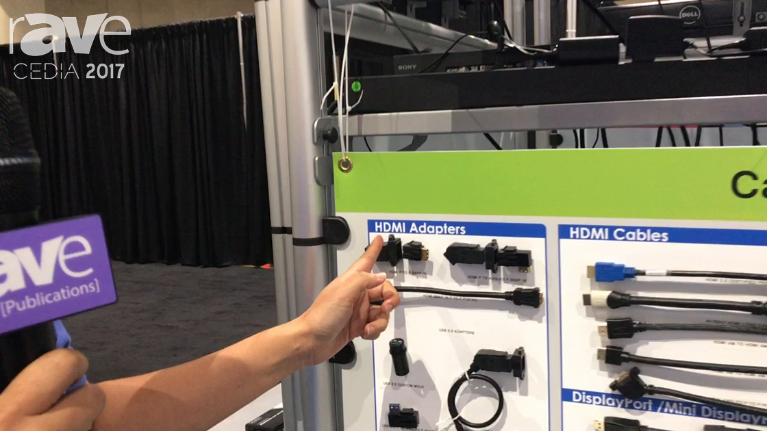 CEDIA 2017: Tri-Net Technology Discusses HDMI Adapters