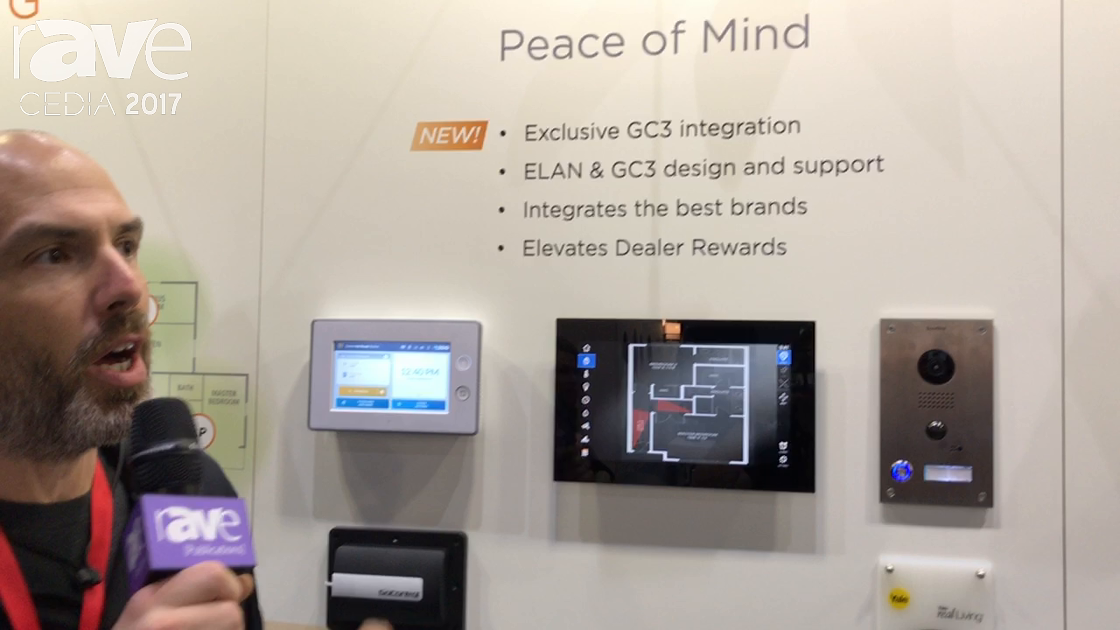CEDIA 2017: Core Brands Features ELAN 8.2 Home Security Software