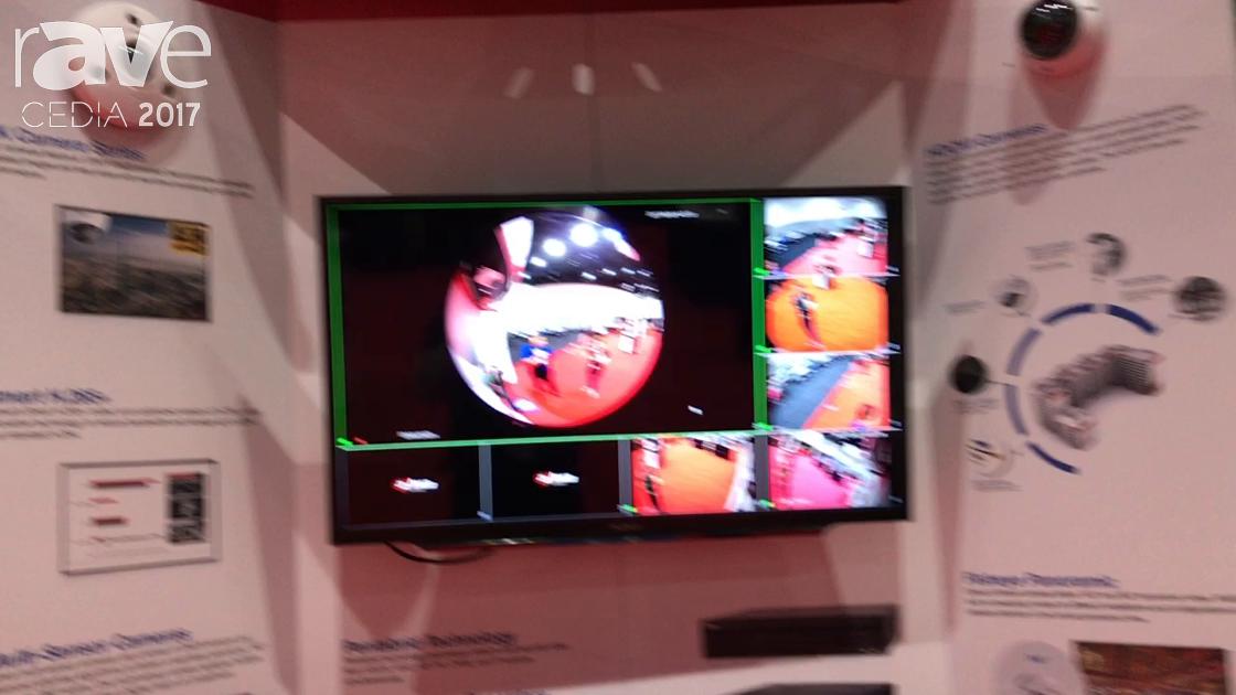 CEDIA 2017: Dahua Technology Exhibits 4K Fisheye Panoramic Camera