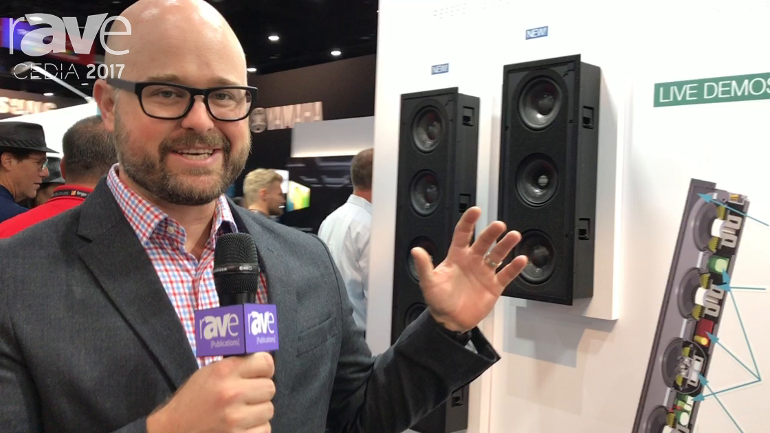 CEDIA 2017: Dana Innovations Debuts Sonance Surround R2 Reference Speaker