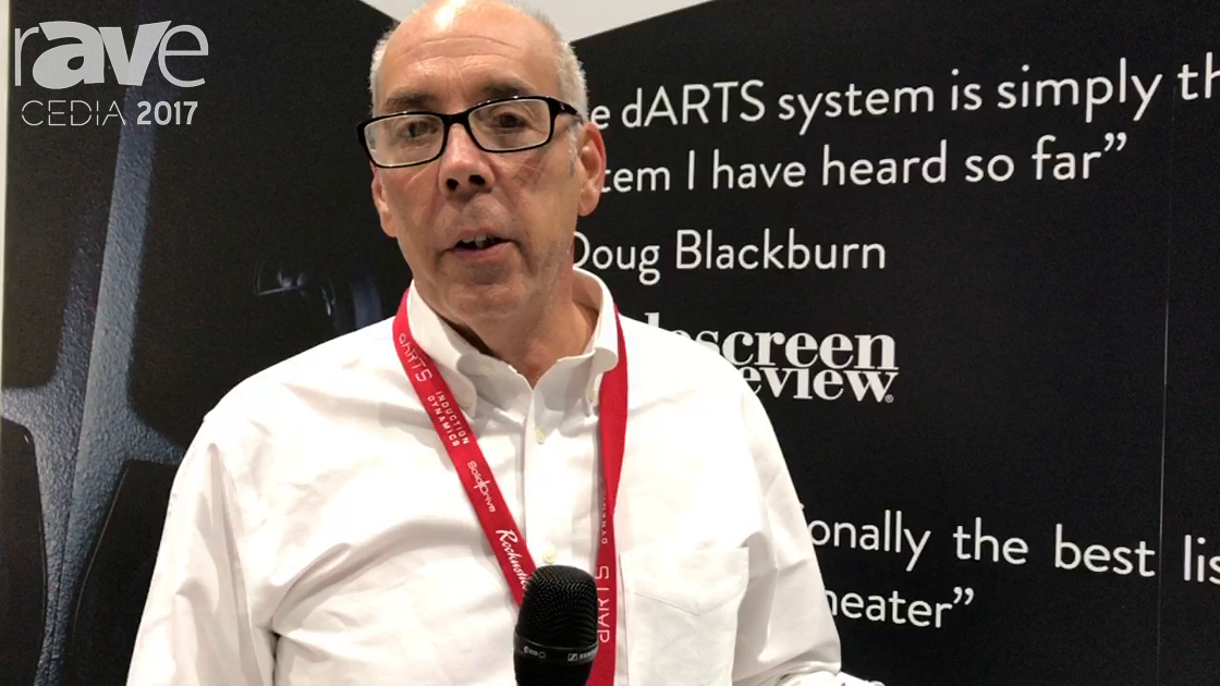 CEDIA 2017: dARTS Digital Theater Features DP4000-IA Amplifier