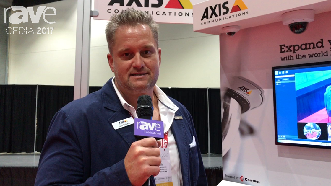 CEDIA 2017: Axis Communications Shows SIP Protocol Doorbell Phone for Smart Home