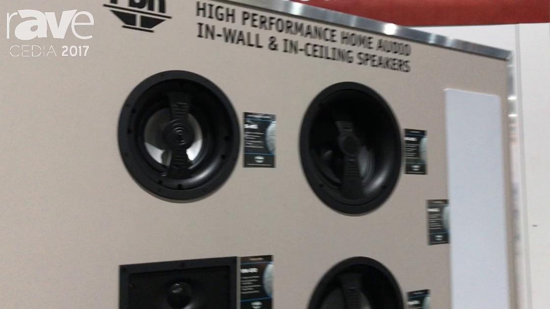CEDIA 2017: RBH Sound Signature SI-615 In-Wall Speaker