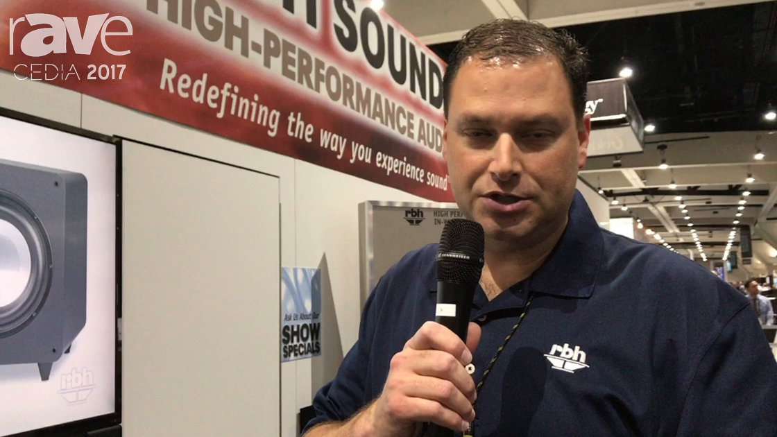CEDIA 2017:RBH Sound WF60PA Wireless Plate Amplifier