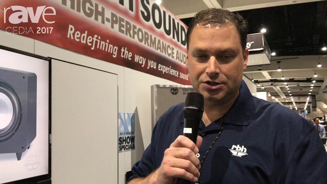 CEDIA 2017:RBH Sound WF60PA Wireless Plate Amplifier